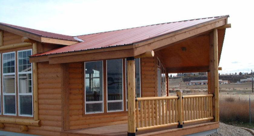 Modular Home Log Cabin