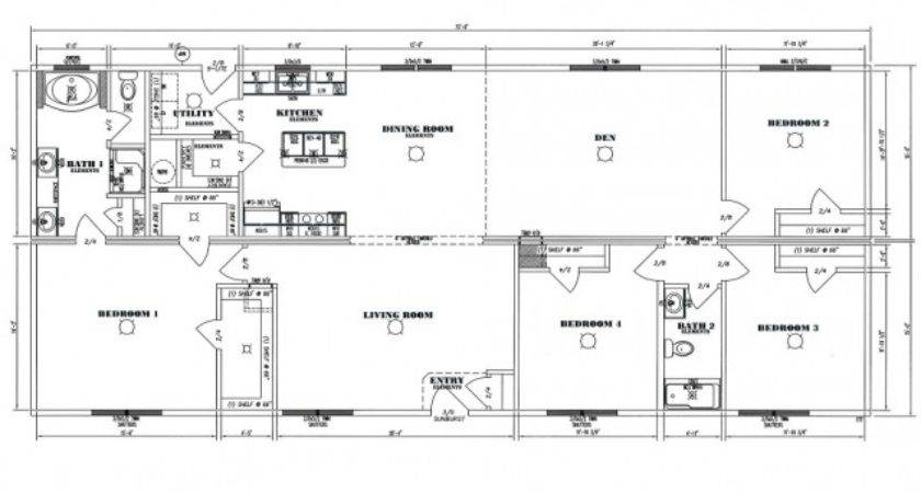 Modular Homes Floor Plans Modern Home