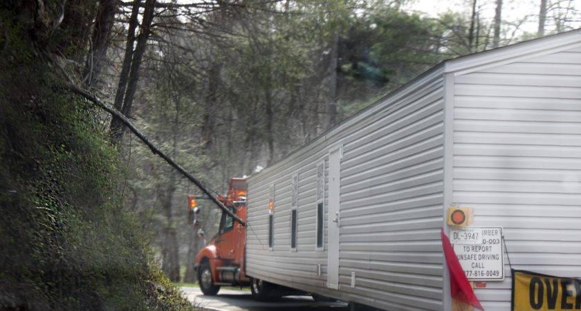 Modular Homes Transport Manufactured Mobile Home