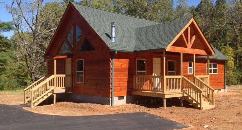 Modular Log Cabin Stone Mountain Homes