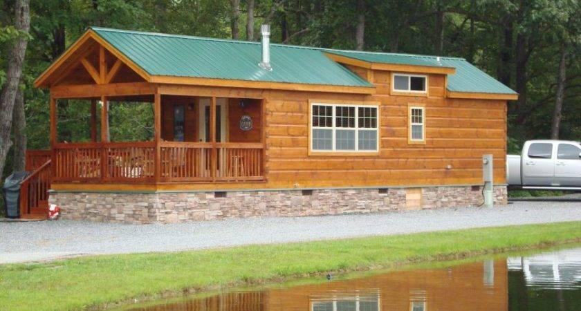 Modular Log Cabins Park Model