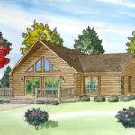 Modular Log Home Plans Custom Build Homes