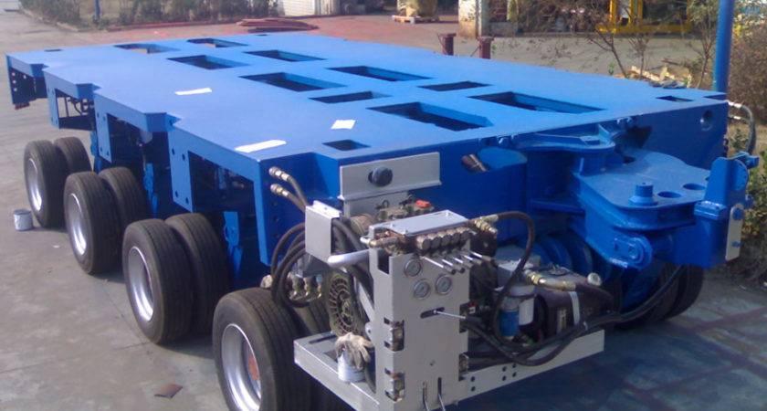 Modular Trailers Multi Axle Trailer China Sinotrailers