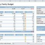 Monthly Budget Template Sample House Hold Budge Plans Home Round