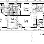 Monticello Model Ranch Home Floor Plan