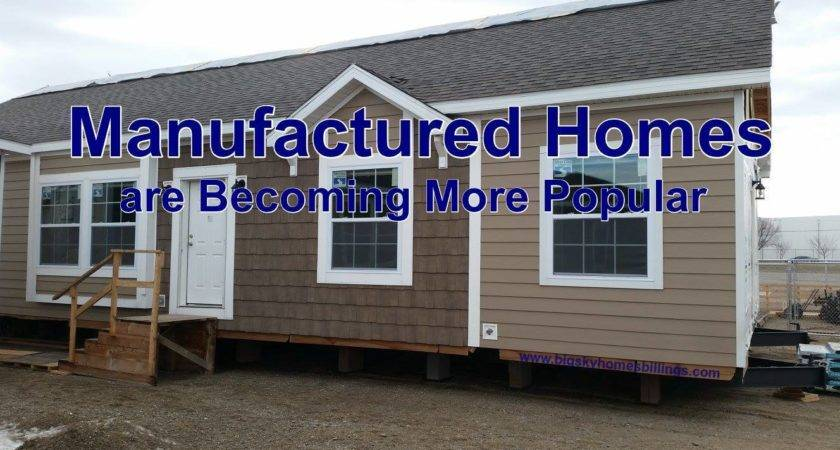 More People Turning Manufactured Homes Big Sky