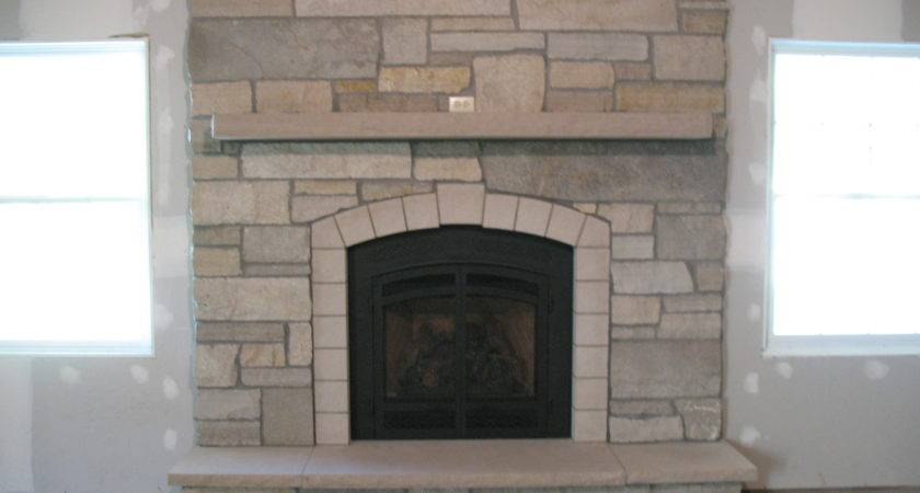 More Stone Fireplaces Basement Fireplace