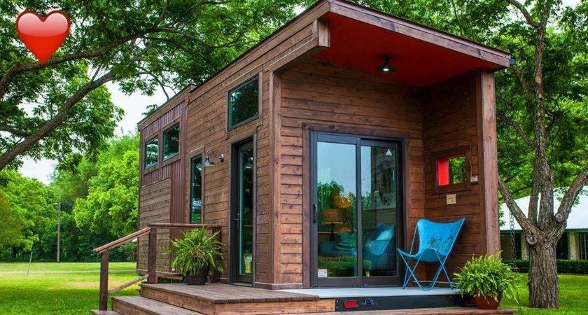 Most Incredible Tiny House Single Loft Texzen
