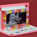 Mothers Day Flower Frame Pop Card