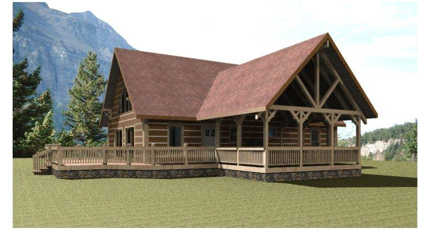 Mountain Cabin Plans One Story Bungalow House