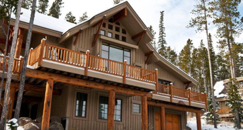 Mountain Homes Lodging Big Sky Montana Resort