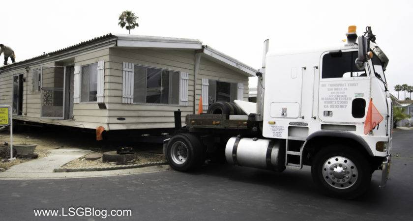 Moving Half Mobile Home Lakeshore Gardens Carlsbad Mexico