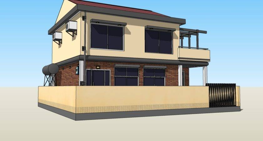 New Sketchup House Model Now Available Your Oelvn