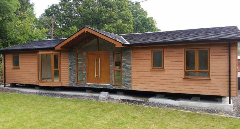 New Twin Unit Mobile Home Chalet Timber Frame Ebay