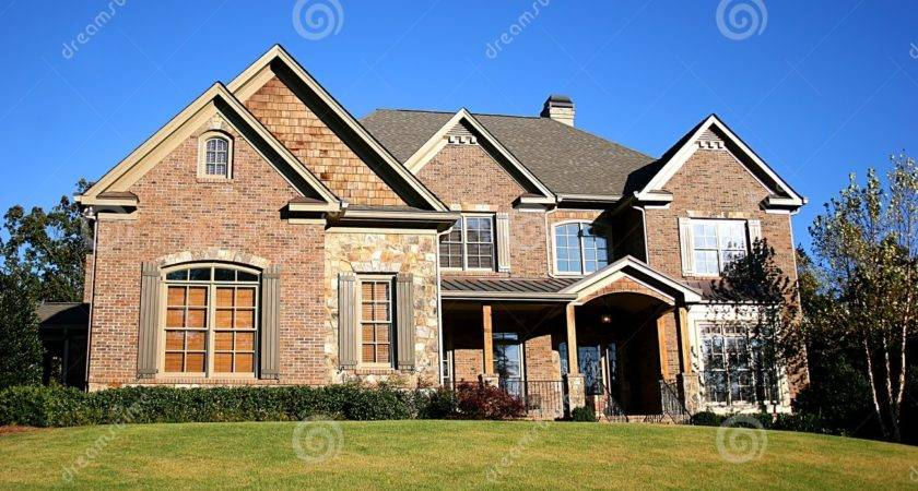 Nice House Building Estate Stately