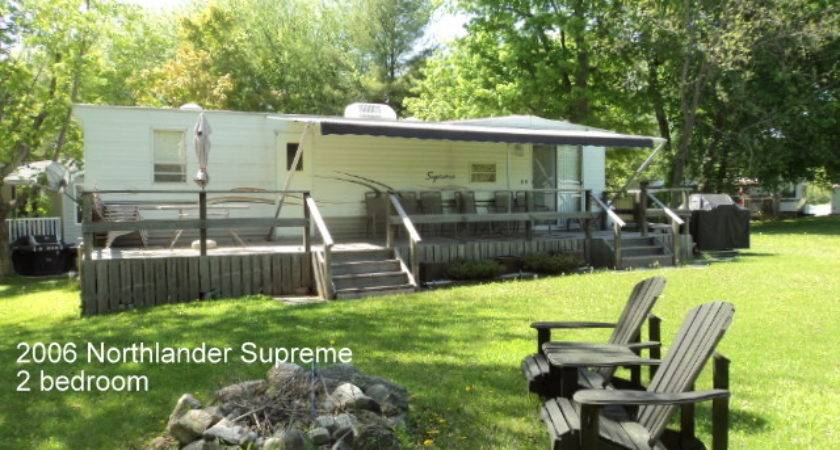 Northlander Supreme Sandy Beach Trailer Court