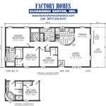 Oakwood Mobile Home Floor Plans Single Wide