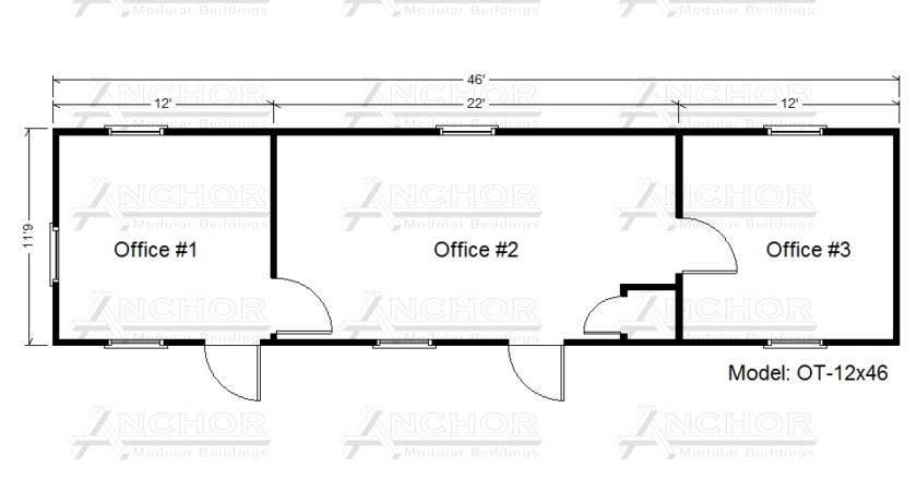 Office Trailer Floor Plans