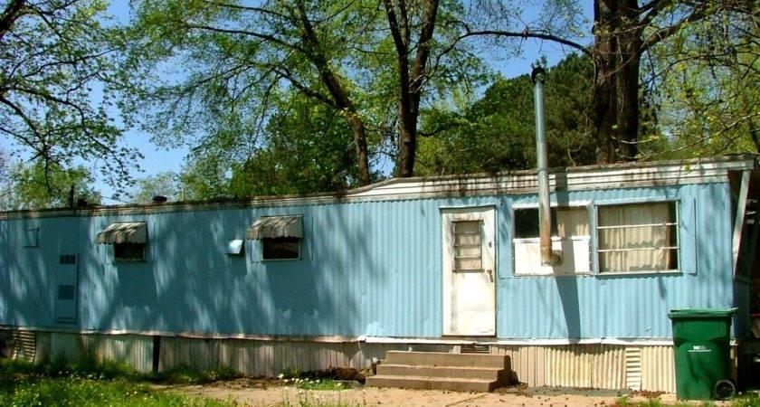 Old Sky Blue Mobile Home Saline County Remarkably