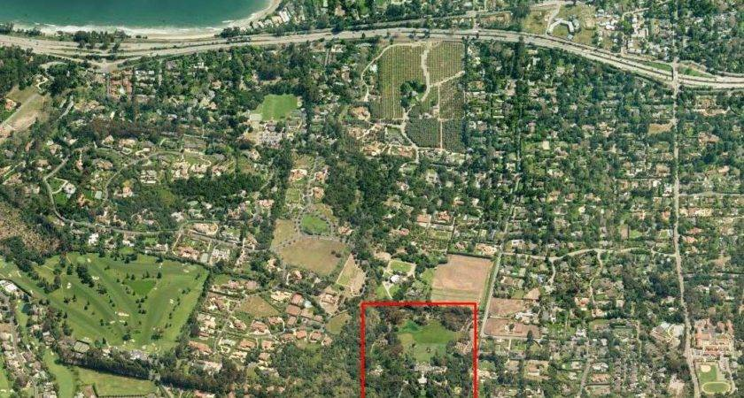 Oprah House Above Aerial Diary Her Montecito Estate
