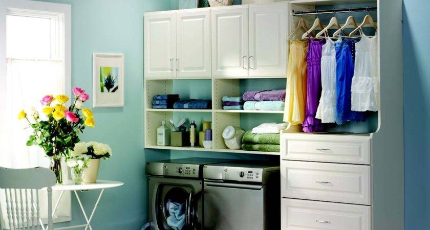 Organize Your Laundry Room Cabinets Decorative