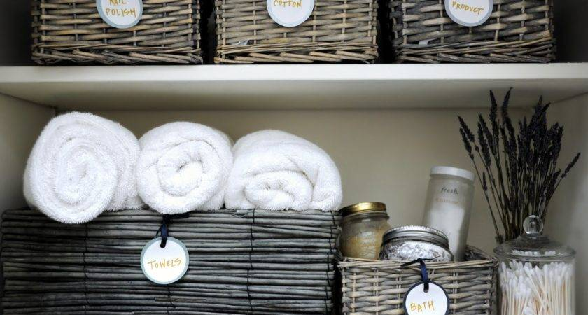 Organize Your Linen Closet Super Simple Steps
