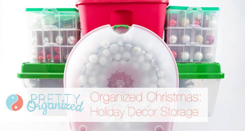 Organized Holiday Christmas Decorating Ideas Small Spaces