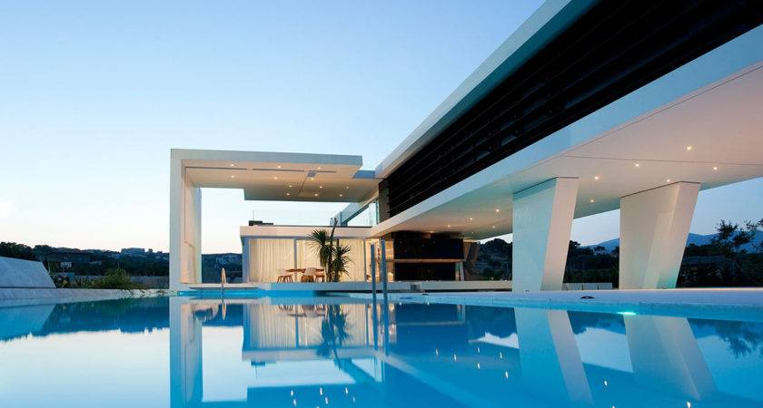 Outdoor Pool House Athens Greece Architecture Studio