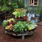 Outside Garden Ideas Diy Slanted Planters Decorgarden