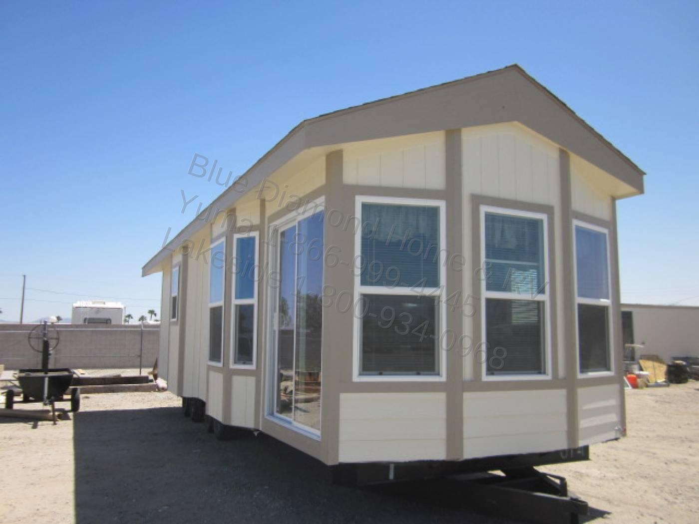 Park Models Clayton Copper Series Blue Diamond Home
