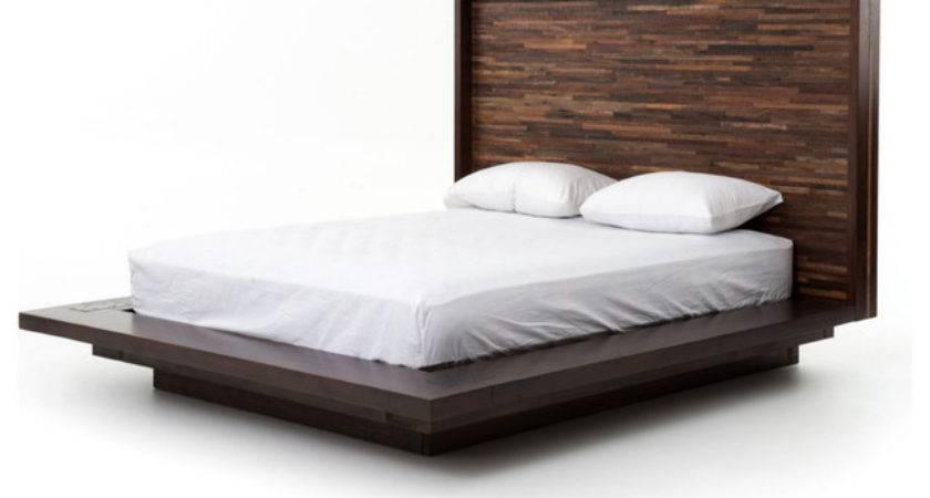 Parker Platform Bed Queen Contemporary Beds