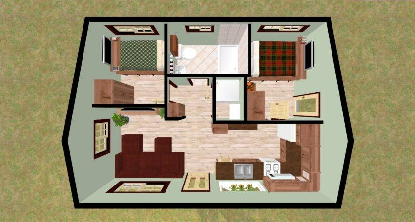Perfect Small Bedroom Cabin Retreat Cozy Home Plans