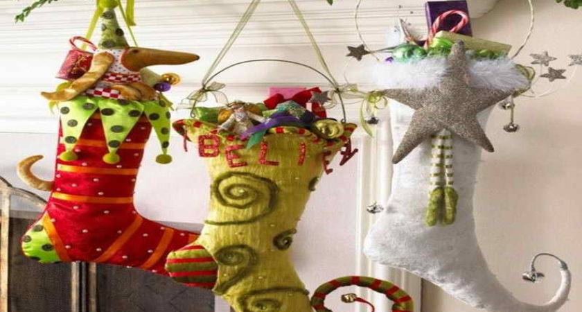 Photos Christmas Stocking Decorating Ideas