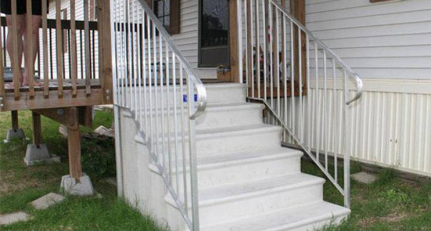 Photos Exterior Stairs Mobile Homes