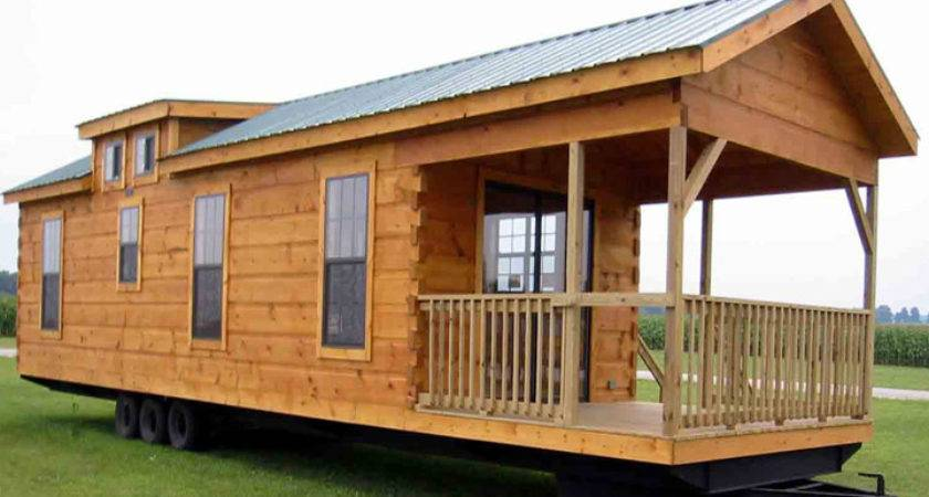 Pin Log Cabin Look Mobile Home Pinterest