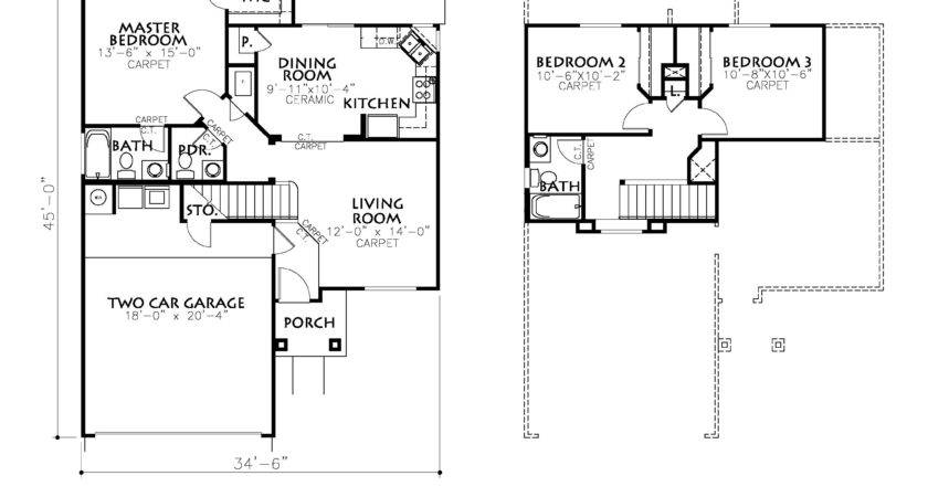 Plan Classic American Homes Paso New