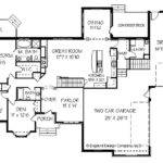 Plans Houses Floor Bedroom Country Ranch House Plan