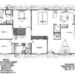 Plans Manufactured Mobiles Modular Home Floor Wide