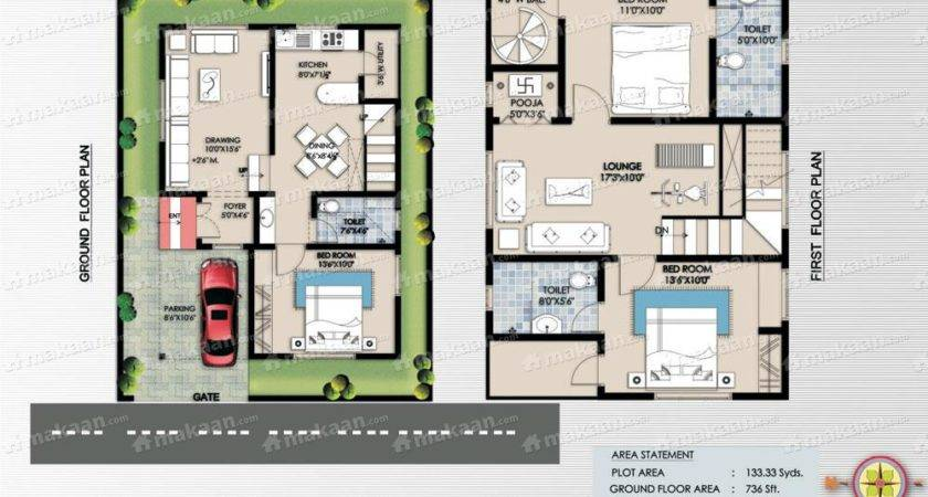 Plans North Facing House Gharexpert Plan