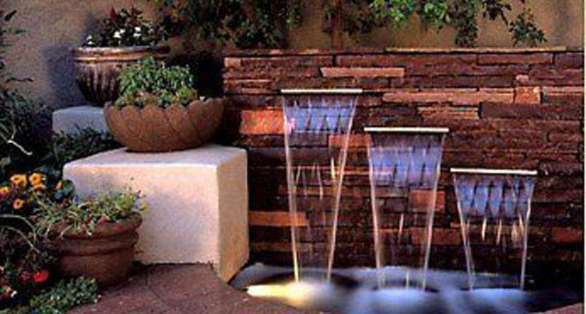 Pond Building Commercial Construction Waterfall