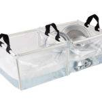 Portable Camping Folding Pvc Double Wash Basin Kitchen Sink Handles