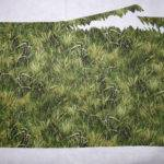 Positioning Grassy Clumps Cover Bottom Fence Post