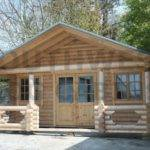 Pre Built Log Cabin Homes Factory