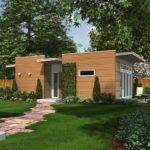Pre Fab Backyard Box Solar Tiny House Concept