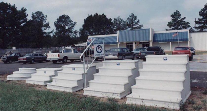 Precast Concrete Steps Dealer Display Century Step
