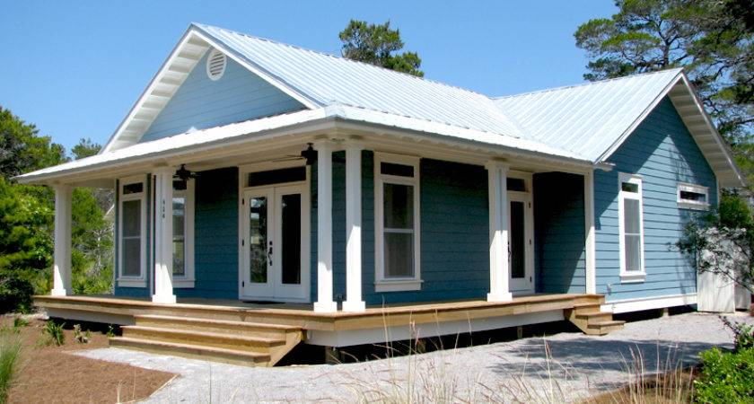 Prefab Coatal Cottage Small House Plans Modern