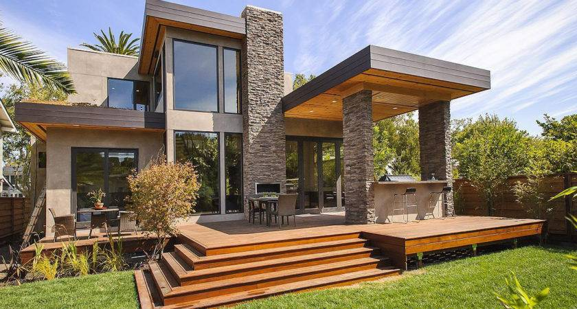 Prefab Home Sustainable Post Beam Chic Modern