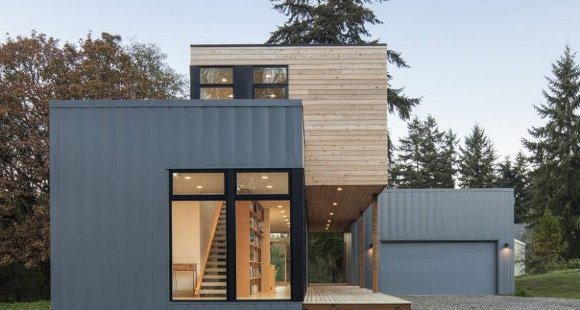 Prefab Home Washington Puget Sound Dwell