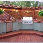 Prefab Outdoor Kitchen Frames Kits Set Home