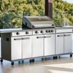 Prefab Outdoor Kitchen Grill Islands Decor